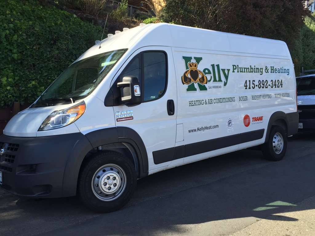 Furnace Air Conditioner repair service Novato Marin County Kelly Plumbing Heating